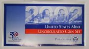 2002 P And D United States Mint Uncirculated Coin Set - Lot Of 5 100 Coins