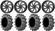 Msa Milled Switch 20 Wheels 35x8.3 Bkt 171 Tires Can-am Defender