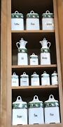 Complete Set Antique Canisters