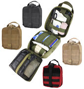 Ma41 Rip Away Emt Pouch Molle Medical First Aid Medic Bag Fold Out Design