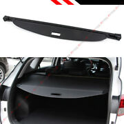 For 2016-19 Hyundai Tucson Oe Style Retractable Cargo Cover Luggage Shade- Black