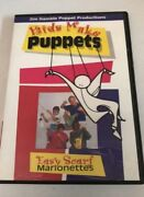 Kids Make Puppets Easy Scarf Marionettes Dvd Like New