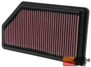 Kandn Replacement Air Filter For Acura Mdx 3.5l V6 01-06 Honda Pilot 33-2200