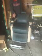 Vintage Antique Koken Barber Chair - Late And03950and039s- Early 60and039s From Fiscella Barber