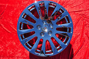 1 Single Rear New 18 Factory Gm Cadillac Cts Coupe Chrome Oem Wheel Rim 08-15