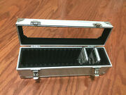 Aluminum Storage And Display Box Case Holds 20 Pcgs Ngc Anacs Coin Holders Slabs