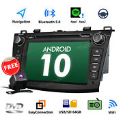 Camera 8 Android 10 Car Stereo Dvd Gps For Mazda 3 2011 Indash Touch Screen Bt