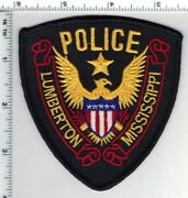 Lumberton Police Mississippi 1st Issue Shoulder Patch