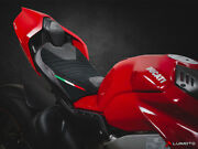 Corsa Motorcycle Rider And Passenger Seat Covers Ducati Panigale V4 18-20 Luimoto