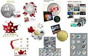 2017 Canada 150 Rcm Silver Coins And Coin Sets Plus Canada 150 Stamp Sets
