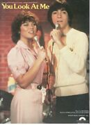 You Look At Me Sheet Music-joanie Loves Chachi-happy Days-baio-1982-rare-new