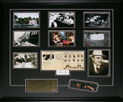 Al Capone Chicago Gangster Tommy Gun Reproduction Signature 6 Photo Frame