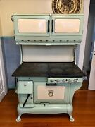 Antique Stove 1880and039s Hybrid Gas And Wood Cook Stove