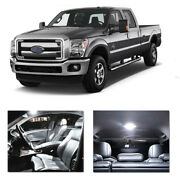 13pcs Bulbs White Led Interior Lights Package Kit Fit 05-2014 Ford F250-f550