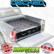 Decked Truck Bed Storage System Fits 2015-18 Ford F-150 6'7 W| Aluminum Bed