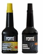 Forte Advanced Formula Diesel Treatment And Turbo Cleaner Twin Pack - 400ml
