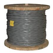 100and039 2/0-2/0-2/0-2/0-1 Ser Aluminum Service Entrance Cable Se Style R Wire