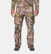 Under Armour Ua Storm Softershell Hunting Pants 1259186 946 Real Tree Xtra 2xl