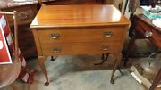 Antique Mahogany Small Dining Server Table - Elegant And Beautiful