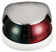 Osculati Mirror-polished Stainless Steel 225 Degrees Bicolor Deck Light 12v 8w