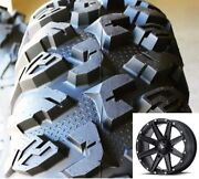 4 Efx 30-10-14 Moto-claw Atv/utv Tires 8 Ply Pr Radial Dot And Msa Wheels Rims