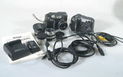 Nikon Coolpix 882 Outfit-2 Cameras, Manual, Battery, And Charger