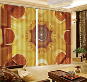 Magnificent Tall Roof 3d Curtain Blockout Photo Printing Curtains Drape Fabric