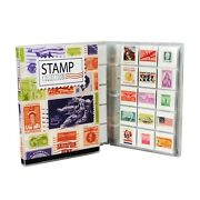 Stamp Collection Kit/album W/ 10 Pages Holds 150-300 Stamps No Stamps