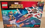 New Sealed Lego 76049 Thanos Vs Super Heroes Avenjet Space Mission