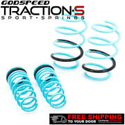 Godspeed Project Traction-s Lowering Springs For Toyota Corolla Sedan E170 14-19