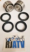 Arctic Cat 400 Fis 4x4 Auto 2003-2004 Both Front Wheel Bearings And Seals