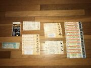 35 Pittsburgh Penguins Full Ticket Lot 1999 2000 Stanley Cup Playoffs