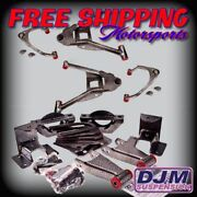 2007 - 2015 Chevy Silverado / Sierra Complete 3/5 Djm With Cast Iron Spindles