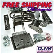 2004 - 2008 Andnbspford F-150 4 Complete Rear Lowering Kit By Djm