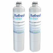 Refresh Replacement Water Filter Fits Samsung Haf-cin/xme Refrigerators 2 Pack