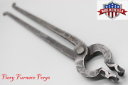 Fff Blacksmith 1/2-inch Bolt Jaw Tongs - Made In The Usa From New 5160