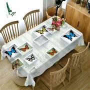 Insect Specimen 3d Tablecloth Table Cover Cloth Rectangle Wedding Party Banquet