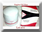Lot Of 6 Engine Oil Filter So49/l20049 Fits Buick, Chevrolet Gmc Cars Trucks