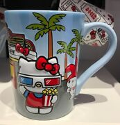 Universal Studios Exclusive Hello Kitty And Friends At The Movies Mug New