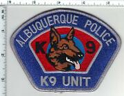 Albuquerque Police New Mexico K-9 Unit Shoulder Patch From The 1980and039s