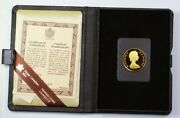 1979 Canada 100 1/2 Oz Gold Proof Coin With Presentation Case And Coa No Box