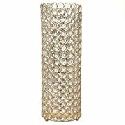 6 Pcs 16 Tall Faux Crystal Beaded Candle Holder Centerpieces Wedding Wholesale