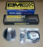 Bme Top Fuel Pistons For Nissan Rb26dett 86mm X 10.5 1500+ Hp 9310 Pins