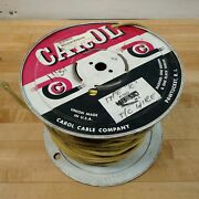 Carol Cable Type K 2 Conductor Thermocouple Cable, High Temperature 32-900 Deg