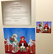 Warner Bros Cel For Better Or For Worse Bugs Bunny Yosemite Sam Rare Number 1