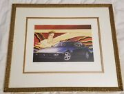 Signed Numbered Lithograph And039pure Design No1and039 Mustang 10/149 Jay Koka
