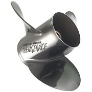 Mercury Vengeance 17 Pitch Stainless Propeller 135 -300hp - 3 Blade 48-16314a46