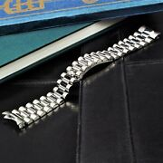 Steel Bracelet President Style 20mm Sel Compatible To Rolex Datejust