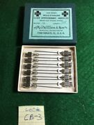 New Old Stock Lot Of 12 Wocher Luer Hypodermic Needles 20 G X 1.5andrdquo