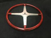 Handmade Jb Donaldson Co. Custom Vintage Sprint Car Steering Wheel